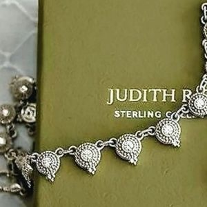 Judith Ripka Sterling Silver Diamoniques Necklace
